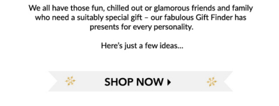 Buy a range of presents from glam to character gifts at George.com
