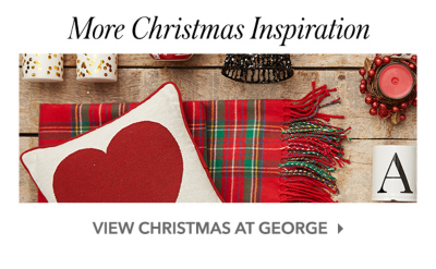 Discover a range of Christmas inspired cushions and throws at George.com