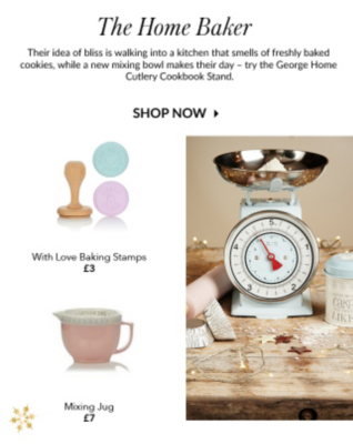 Pick from a range of baking accessories, jugs and scales at George.com