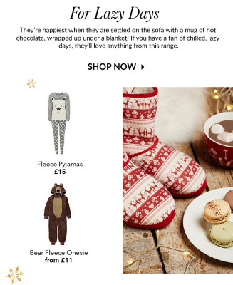 Buy a range of cosy Christmas slippers, character pyjamas and onesies at George.com
