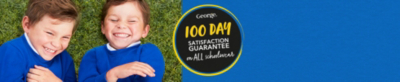 Get to know more about our 100 day satisfaction guarantee on all schoolwear at George.com