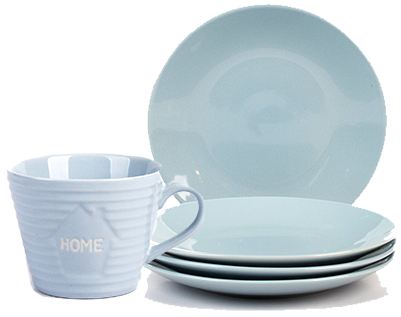 Coordinate your dinnerware with our Ambleside kitchen collection at George.com