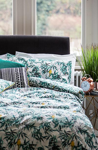 Liven up your bedspread with printed bedding at George.com