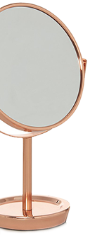 Reflect your style with a copper mirror at George.com