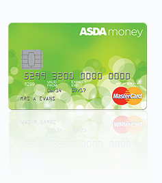 Spread the cost of purchases with 0% interest of 6 months with the Asda Money credit card