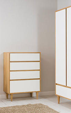 Buy the Wynne bedroom furniture range at George.com