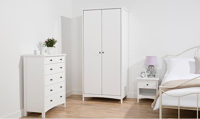 Buy the Tamsin bedroom furniture range at George.com