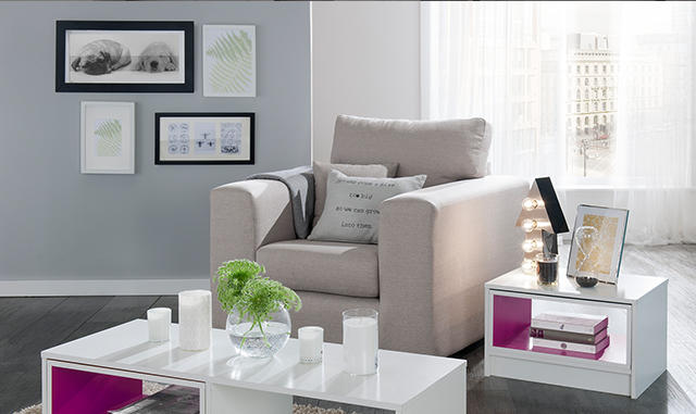 Shop the Boxx living room furniture range at George.com