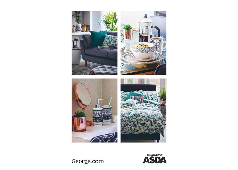 From sofas to bed frames and stylish accessories, the George Home catalogue has something to make your home a haven.