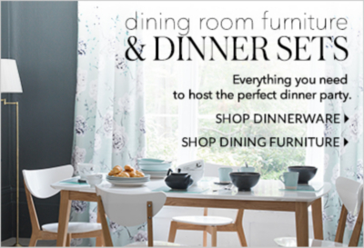 Pick out some of our stylish dinnerware