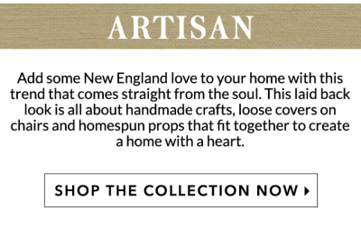 Home inspiration: Artisan