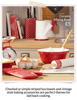 Pick from a range of beautiful kitchenware with a range of accessories available at George at Asda