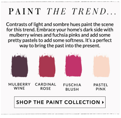 Pick from a range of trend inspired paints at George.com