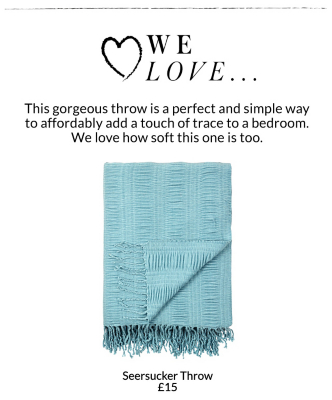 Shop a range of beautiful throws in different textures at George.com