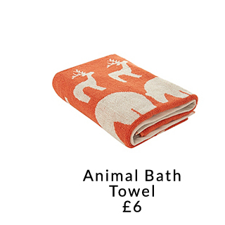 Pick from a range of beautiful accessories including animal print bath towels, toothbrush holders and shower curtains at George.com