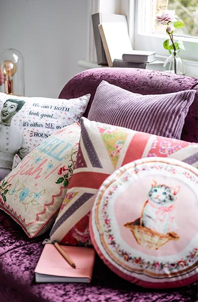 Shop knitted throws to embroidered cushions from our Twisted Vintage collection at George.com