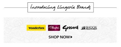 Lingerie brands