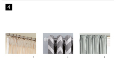Our guide to fitting tab-top and eyelet curtains