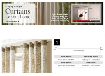 Discover your perfect curtains at George.com