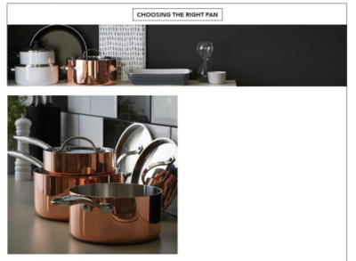 Discover a range of copper pans in all sizes at George.com