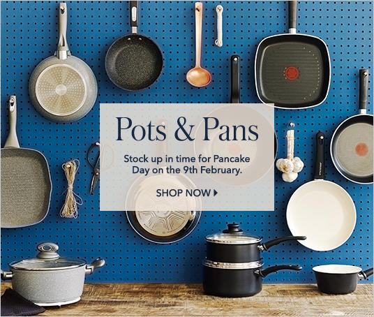 Shop pots and pans at George.com