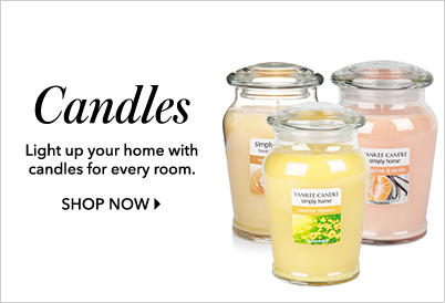 Light up your life with a gorgeous selection of candles at George.com