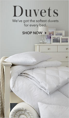 Shop incredibly comfy and deluxe duvet sets at George.com, perfect for reviving your bedding collection and ensuring a wonderful night's sleep