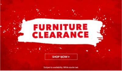 Furniture Clearance Sale