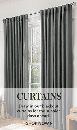 Draw out some gorgeous curtains at George.com