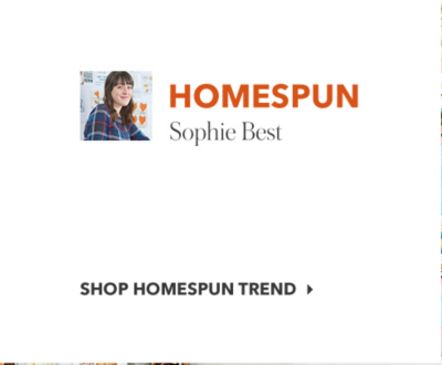 homespun trend