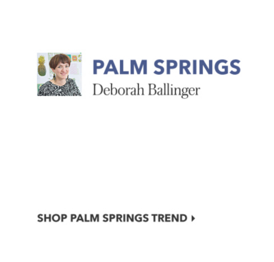 palm spring trend
