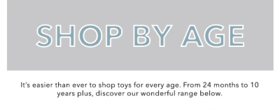 George toys shop by age