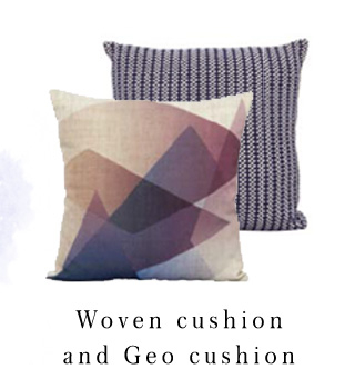 Geo print cushions? Our favourite way to accessorise your bedroom for AW16