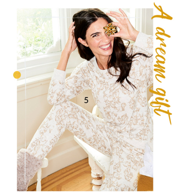 Snug, soft and festive - wrap up warm on Christmas morning with our range of pyjamas at George.com