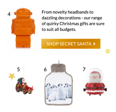 Xmas is all about having fun! - Treat family, friends and colleagues to our fabulous secret santa gifts at George.com