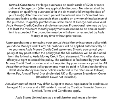 The Credit Card by Asda Money