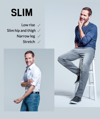 A staple for your wardrobe- explore slim jeans at George.com