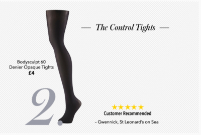 Find women's control tights and flattering tights now from George.com