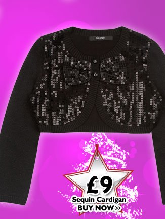 Sequin Cardigan £9