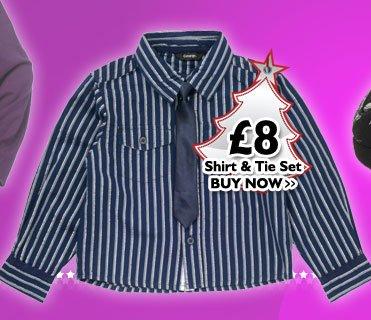 Shirt & Tie Set £8
