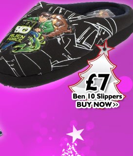 Ben 10 Slippers £7