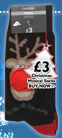 Christmas Musical Socks £3