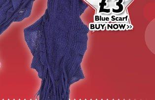 Blue Scarf £3