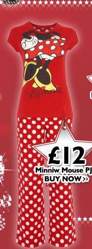 Minnie Mouse PJ's £12