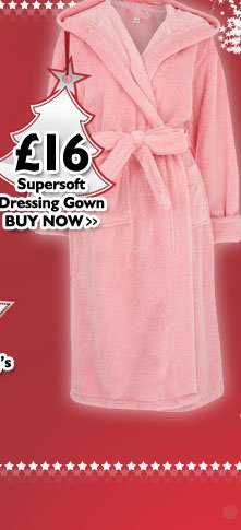 Supersoft Dressing Gown £16