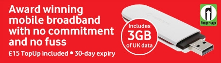 Award winning mobile broadband
