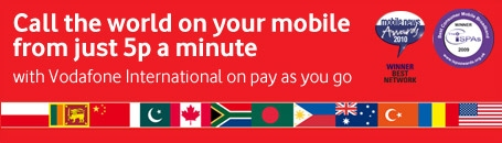 Call the world from your mobile from just 5p a minute