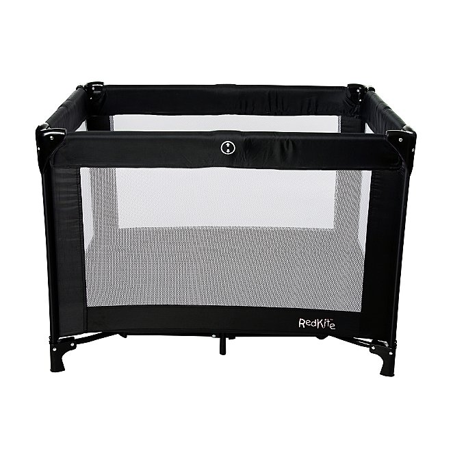 sneakers for cheap b9b74 dcf4e Red Kite Sleeptight Travel Cot - Black