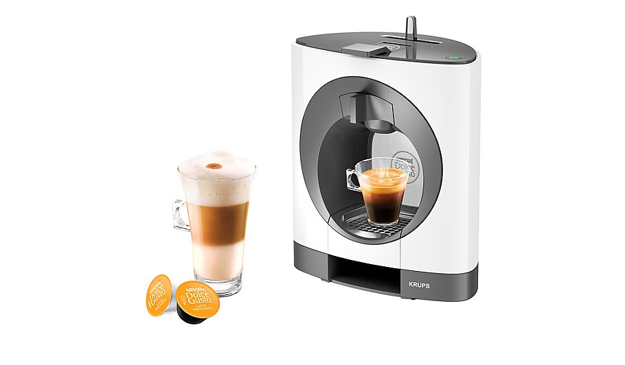 Krups Coffee Maker Asda : NESCAFe Dolce Gusto Oblo White by KRUPS Home & Garden George at ASDA
