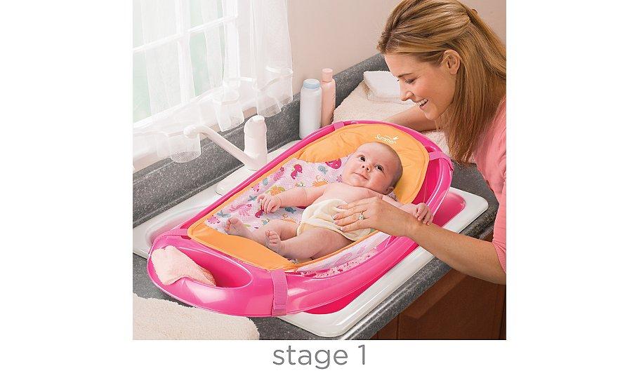 Summer Infant Splish N Splash Bath - Pink | Baby | George